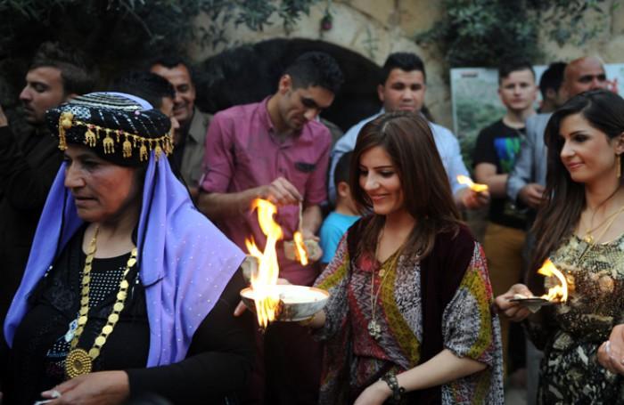 Езиды — солнцепоклонники и празднуют Новый Год весной. Фото kurdistan24.net
